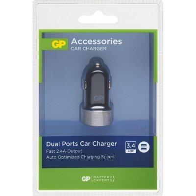 GP USB autolader CC31 met 2 poorten 2.4/1 Ampere 150GPCC31C1