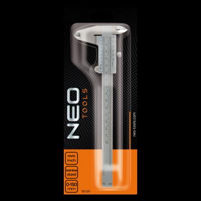 Neo Tools Schuifmaat 0-150mm RVS