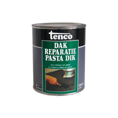 Tenco Dakreparatiepasta Extra Dik Zwart 2500ml
