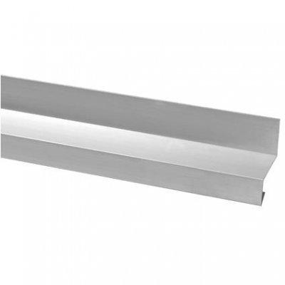 Aluminium lekdorpel 60x34mm 200cm