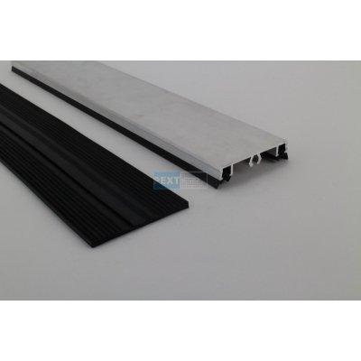 Pext Koppelprofielset Oplegrubber met Afdekprofiel 300cm