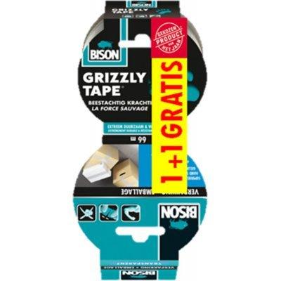 Bison Grizzly tape en Verpakkking tape Set 2 Rollen
