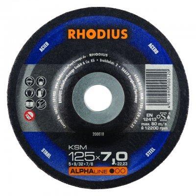 Rhodius afbraamschijf KSM 125mm Alphaline