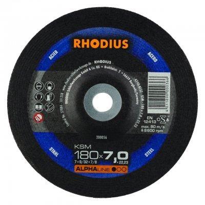 Rhodius afbraamschijf KSM 180mm Alphaline