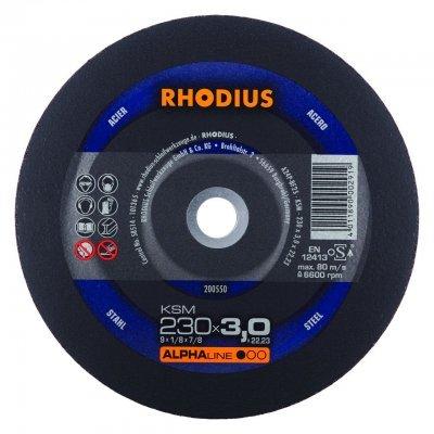 Rhodius doorslijpschijf KSM 230mm Alphaline