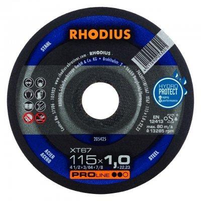 Rhodius doorslijpschijf XT67 115mm Proline