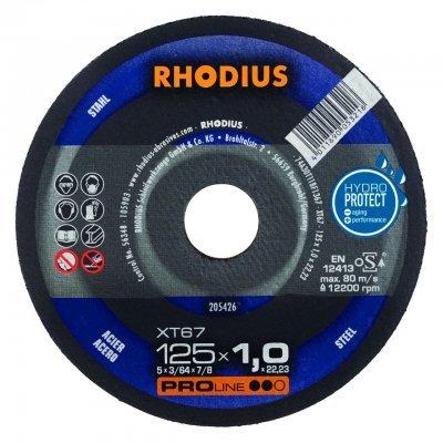 Rhodius doorslijpschijf XT67 125mm Proline