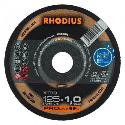 Rhodius doorslijpschijf XT38 125mm Proline