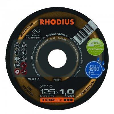 Rhodius doorslijpschijf XT10 125mm Topline