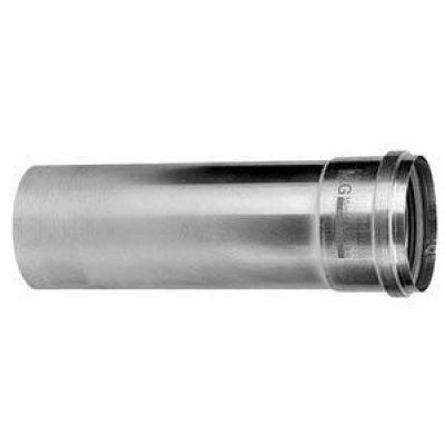 Aluminium fix dikwandig pijp 80mm