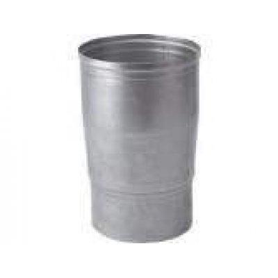 Aluminium verloop 100x110mm