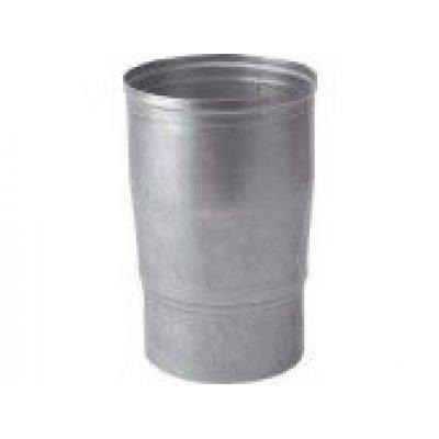 Aluminium verloop 130x110mm