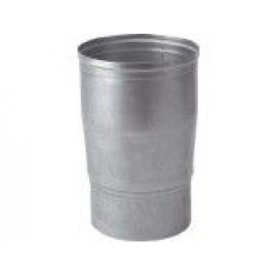 Aluminium verloop 90x110mm