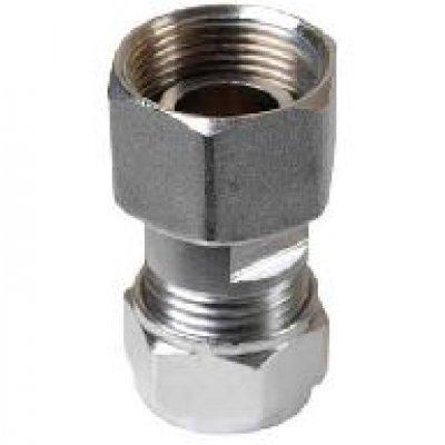 Gaskoppeling m24 binnendraad x knel 15mm