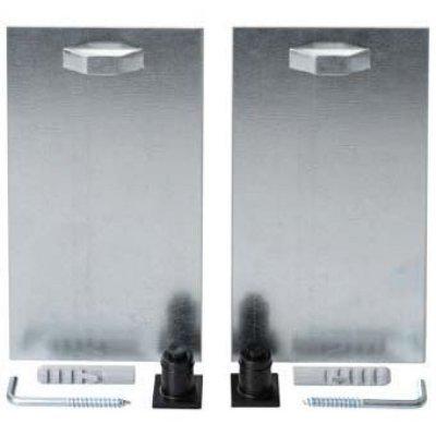 Plieger verdekte ophangset voor spiegel met verlichting 160x80mm