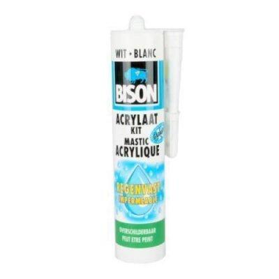 Bison acrylaatkit exterieur wit