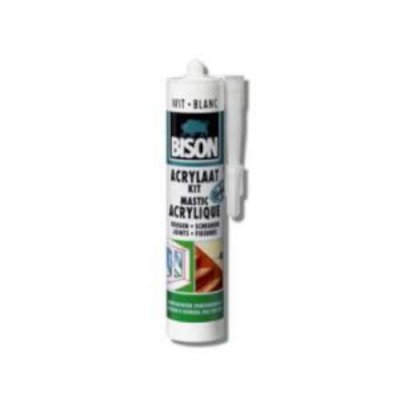 Bison acrylaatkit wit
