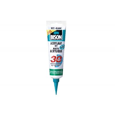 Bison acrylaatkit wit 150ml