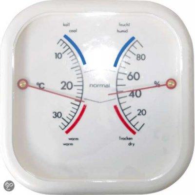 Hendrik jan thermometer hygro vierkant