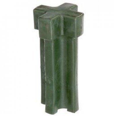 Inslag hulpstuk voor paalpunten groen