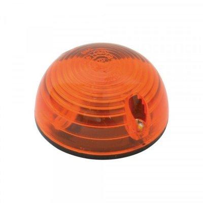 Paddestoellamp oranje 12 Volt 2 Stuks