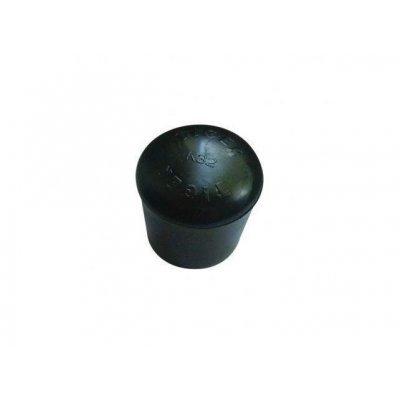 Pootdop peervorm 32mm zwart