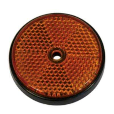 reflectoren rond 60mm oranje
