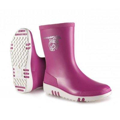 Dunlop kinderlaars mini Roze